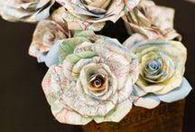 trocitos de papel / texturas,  papeles y mucha creatividad