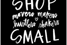 Support small businesses! / Please feel free to pin any of your (or others) shoppe items here!