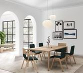 Raia | Table / Wood dining table, avaliable in two sizes.