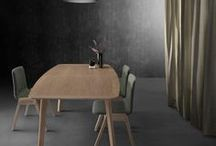 Azores | Table / Solid oak table avaliable as fixed or extendable version.