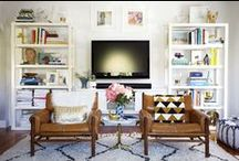 Home Decor / Spatial design, color, decor, layout and inspiration for the home.