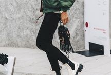 Oh la la pour la France / When I move to Paris this'll be my style ;)