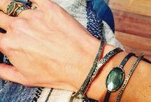 Bracelets / A selection of bracelets designed by Robindira Unsworth