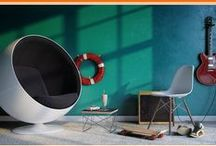 """Mid-Century Modern Community / Pour yourself a Tom Collins and make yourself comfortable. Use our picks & pin your favorite mid-century inspiration -- follow this board & comment """"ADD ME"""" on any of OUR pins."""