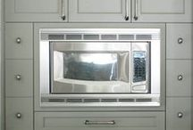 Appliance Envy / A variety of custom hoods, professional appliances and small electrics.