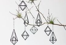 3d ornaments / 3ds, origami, ornaments, diy