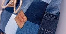 Denim and recycled materials
