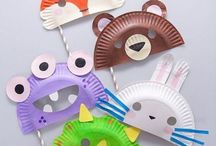 Some Easy Crafts to Make With Paper Plates / Paper plate crafts for all occasions!