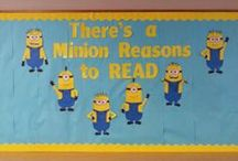 Bulletin Board Book Displays / by Miss Pippi