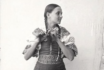 Folk costumes / Kroje / (Mostly) from Slovakia
