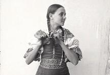 Folk costumes / Kroje / (Mostly) from Slovakia