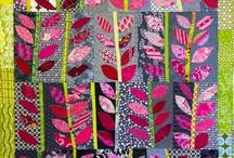Quilts - Fiber Art - Felt - Fabric