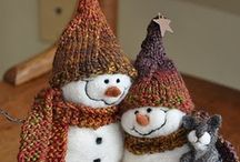 Snowmen - Part 2  / Just can't get enough of them. Love love love them........ / by Janet Rogala