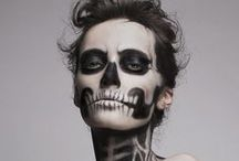 Haloween makeup  / by Paige Lonon