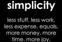 simplicity / by Jessica Ann