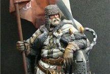 Historical Figurines - Medieval / by Bryan Miller