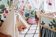 Nursery / Ideas to give your baby a beautiful nursery in your own home.