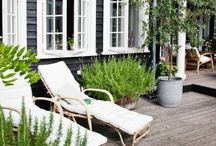 In the Garden / Ideas for the outdoors - go outside!