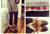 Fall/Winter Clothes / Comfy and Cozy for cold weather! / by Gina Hall