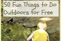 Outdoor Family Activities / Ways to explore, discover and enjoy your world.