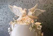 Love birds and butterfly cakes / by Linda Mashni