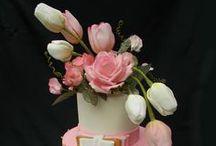 Spring forward  /  Spring, Mardi Gras, Easter cakes / by Linda Mashni