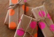 Gift Wrapping IDEAS / by Diane Peterson