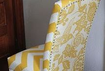 ReUpholstering / by Diane Peterson