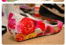 Decoupage WHAT??? / Cool ideas for Decoupaging. / by Diane Peterson