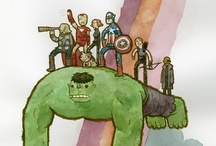 Avengers Assemble!  / by Ana Laura Calzada