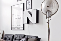 black and white home decor / black and white interiors / by karen