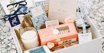 Welcome Bags + Boxes / Welcome Bags & Boxes for your Wedding Guests
