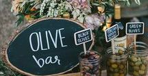 Eat, Drink & Be Married. / A collection of ideas for things to serve your guests at your wedding!