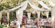Garden Wedding / Romantic Garden Wedding Inspiration