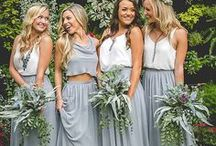 Bridesmaids Inspiration / Bridesmaids Inspo from Beautiful Dresses to Jewelry to Gifts