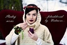 {Fotoeditorial - Sweet frost} / {Fotoeditorial by Wedme.cz} GO TO --------> http://www.wedme.cz/magazin/editorial/sladky-mraz-fotoeditorial/1168