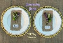 {DIY Wedding by Wedme.cz} / {DIY Wedding}  GO TO --------> http://www.wedme.cz/magazin/diy-udelej-si-sama