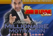 The John Di Lemme Show / Every Monday at 8:30 p.m. EST join John Di Lemme and Other Champions Around the World for The John Di Lemme Show, the #1 Success, Motivation, & Marketing Tele-Class for Over 14 Years.  The Class is FREE!  Dial: (857) 232 - 0155  Code 334299