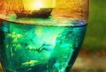 arty - Land/Waterscapes / by Stony Hill Farm Greenhouses, LLC