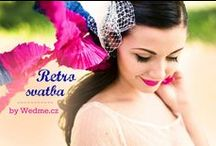 {Fotoeditorial - Retro wedding} / {Fotoeditorial by Wedme.cz} GO ON ------> http://www.wedme.cz/magazin/editorial/retro-svatba-fotoeditorial/1288