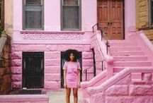 little miss. / A sassy chick who loves the color pink.