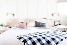 Interiors : bedroom / Peaceful, modern bedroom spaces.