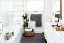 Interiors : bath / Home spa inspiration.