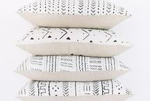 details / pillows, blankets + little details for our home
