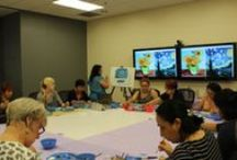 Adult SRP @ MPL- 2015 / A collection of pictures from McAllen Public Library's 2015 Adult Summer Reading Program.