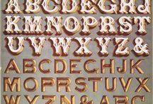 Letters: Victorian/Decorative
