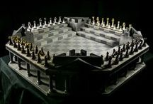The Board - Colosseum series / Presenting the first in the Four Kings One War series boards,  the Colosseum series.  The next frontier in one on one Chess strategy that will leave you gagging for more.