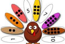 Homeschool  Thanksgiving / Don't miss this collection of Thanksgiving printables, games, crafts, ideas and books for preschool, kindergarten and early elementary students. Great for homeschool families! / by Dianna Kennedy