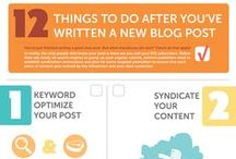 Blogging Tips / I love scouring the web for the latest information on growing my blog! Check out what I've found!