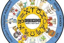 Collection - DogOscopes /  The Dog Zodiac  www.dogoscopes.com